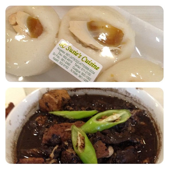 Dinuguan w/ Puto @ Suzies Cuisine