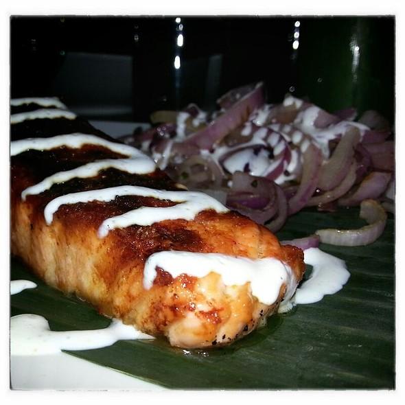 Tandoori Salmon - Jade Eatery & Lounge, Forest Hills, NY
