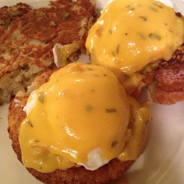 Blue Crab Eggs Benidict - Big Jones, Chicago, IL