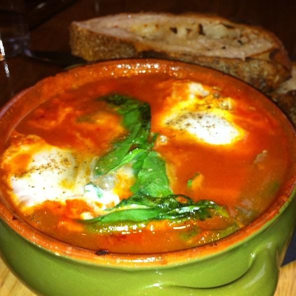 Poached Egg Shakshouka - Balaboosta, New York, NY