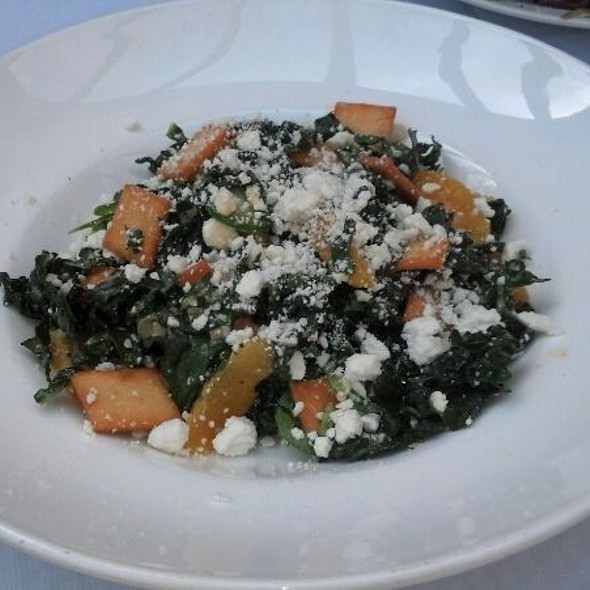 organic black kale salad - Gardens of Avila Restaurant, San Luis Obispo, CA