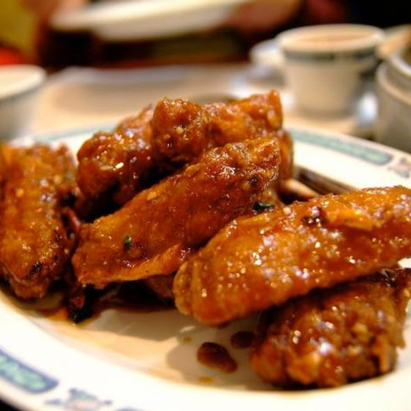 Dry Fried Chicken Wings @ San Tung