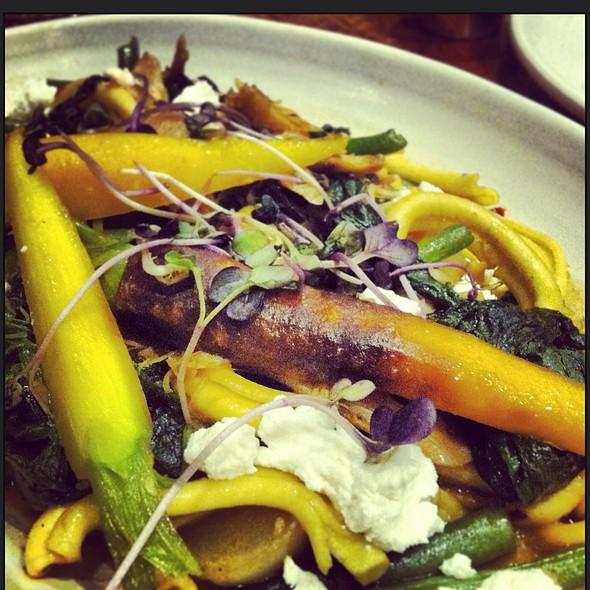 Rabbit Confit W/ Farmer's Pasta @ Borgne