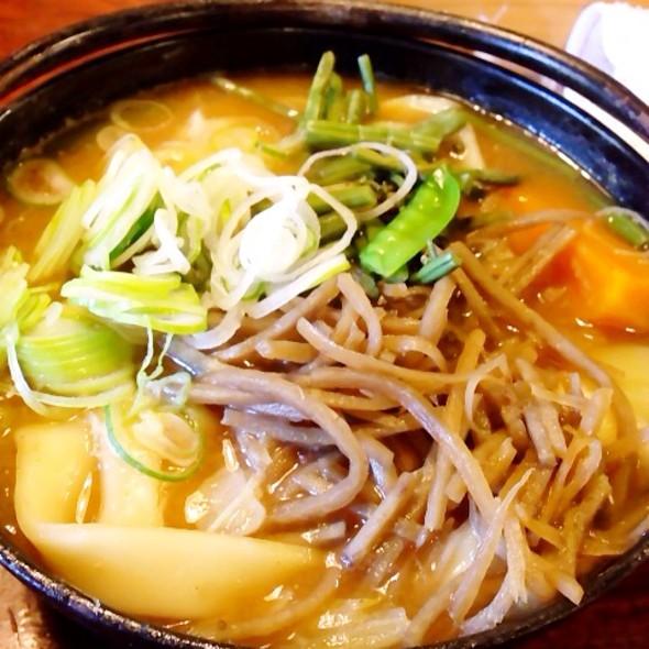 Pumpkin Hotou Udon @ 甲州ほうとう小作