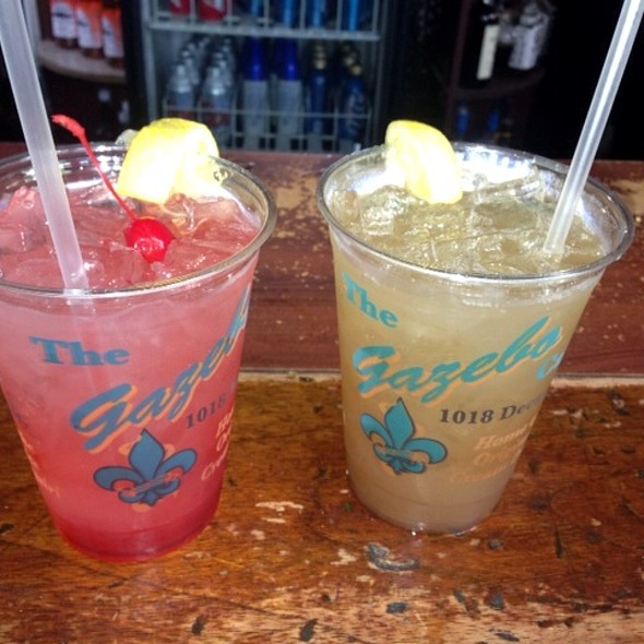 Louisiana Lemonade Long Island Iced Tea At The Gazebo Cafe