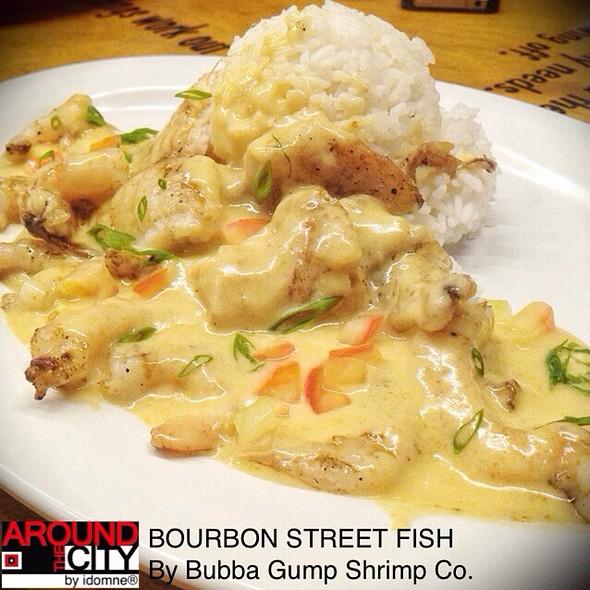 Bubba gump menu makati foodspotting for Bourbon street fish