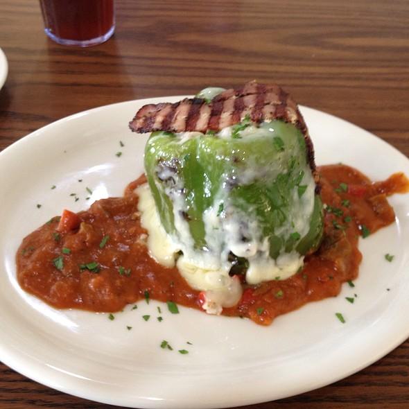 Cajun Stuffed Pepper @ Marco's Pepper Grill