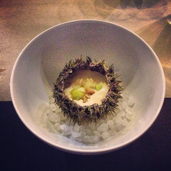 Maine Sea Urchin Vichyssoise @ Kennebec