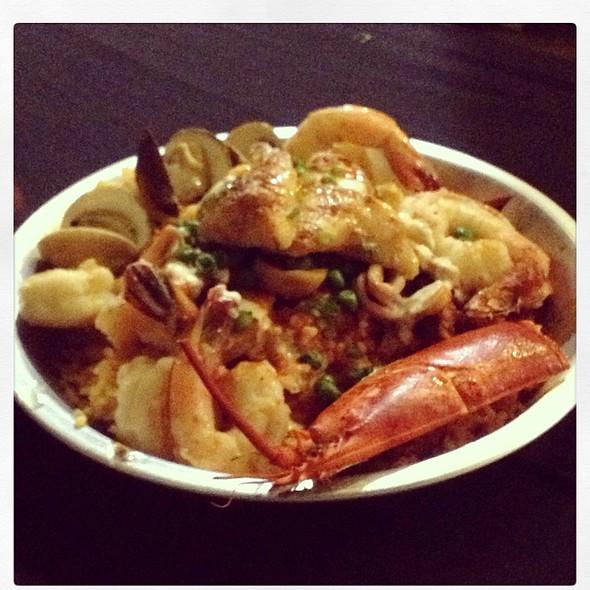 Seafood Paella @ Kennebec