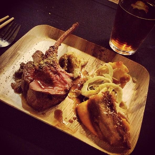 Rack Of Wild Boar & Crispy Pork Belly @ Kennebec