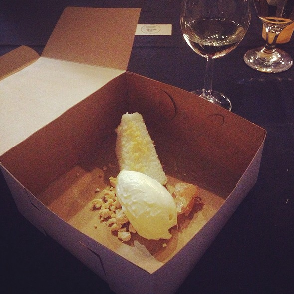 Frozen Lemon Curd With Pop Rocks @ Kennebec