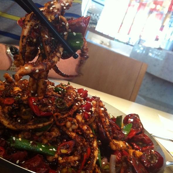 Calamari Feet Wok @ Dainty Sichuan