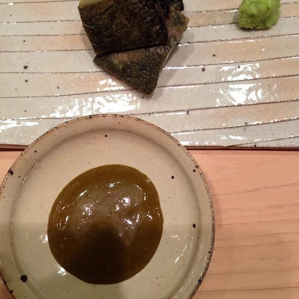 abalone sashimi @ Sushi Yoshitake