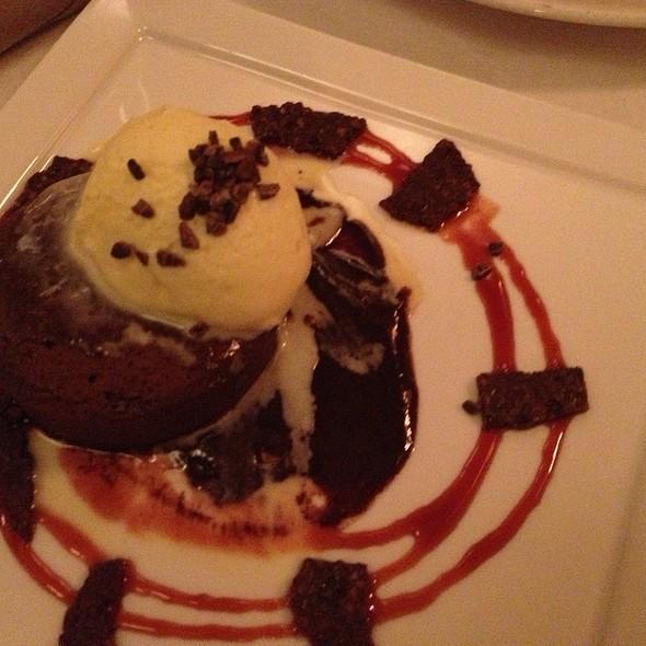 Flourless Chocolate Cake With Valhrona Nibs - Local 121, Providence, RI