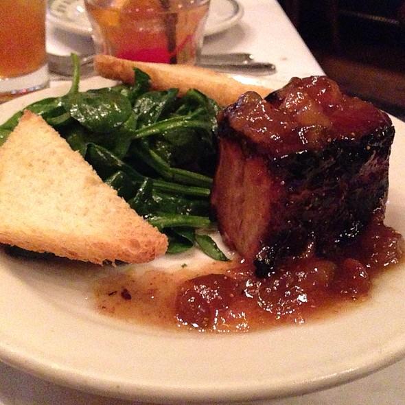 Pork Belly @ Mr B's Bistro
