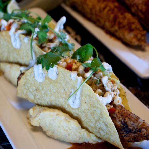 Grilled Mahi Mahi Fish Tacos - WiseGuys Steak & Lounge, Hilton Head Island, SC