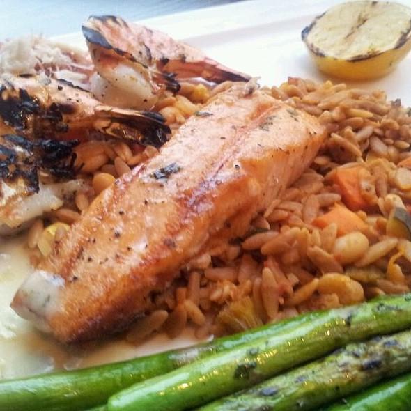 Salmon & Prawn Scampi  - Palomino - Cincinnati, Cincinnati, OH