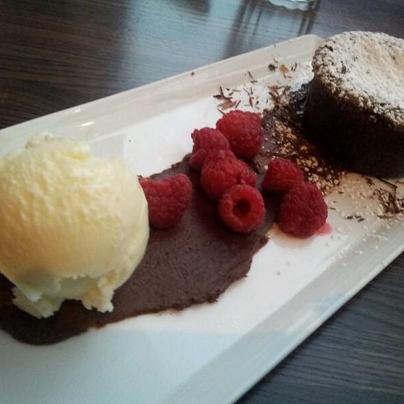 Warm Valrhona Chocolate Cake - Palomino - Cincinnati, Cincinnati, OH