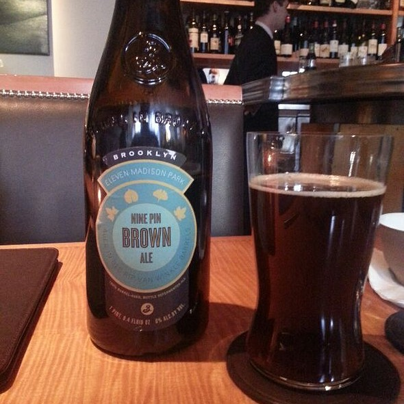 Nine Pin Brown Ale @ 11 Madison Park