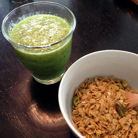 Green Smoothie @ Home