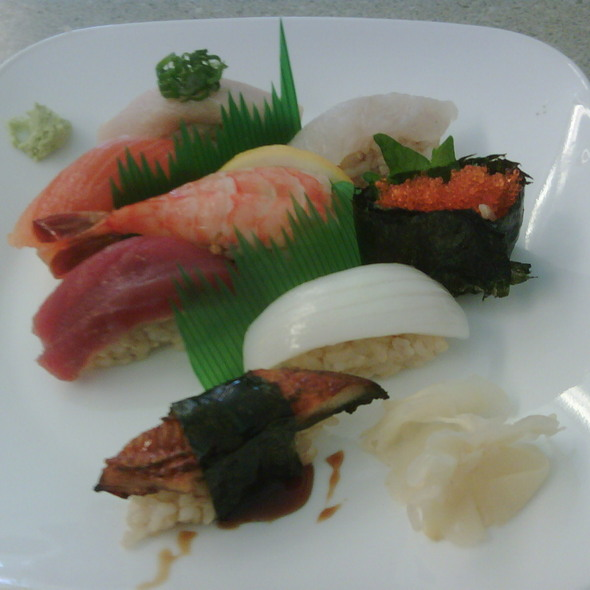 Nigiri Deluxe @ Homma's Brown Rice Sushi
