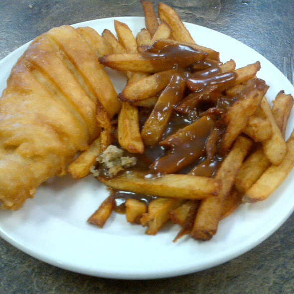 Fish & Chips @ Stoyles Fish & Chip