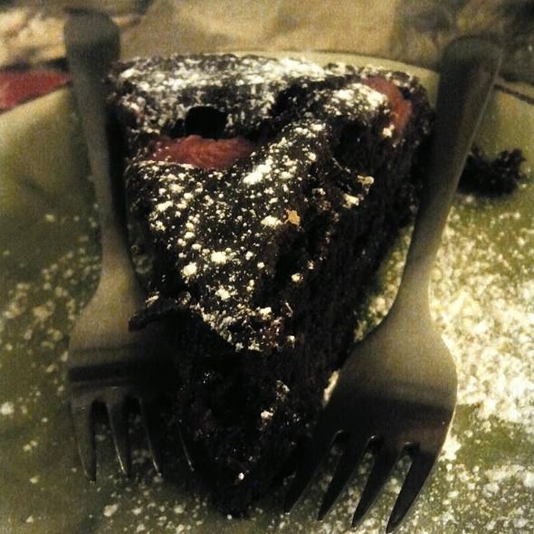 Torta Vegana Cioccolato E Fragole @ Capra e Cavoli