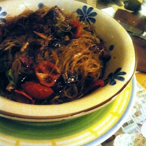 Spaghetti Di Soia Vegan  @ Capra e Cavoli