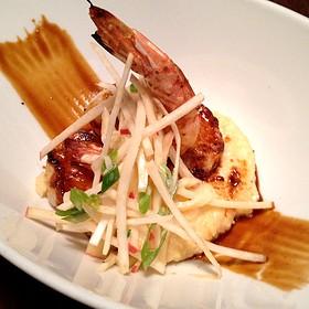 Stout Barbecue Glazed Gulf Shrimp