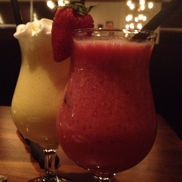Strawberry And Mango Shake @ Smith Brothers Steakhouse Tavern