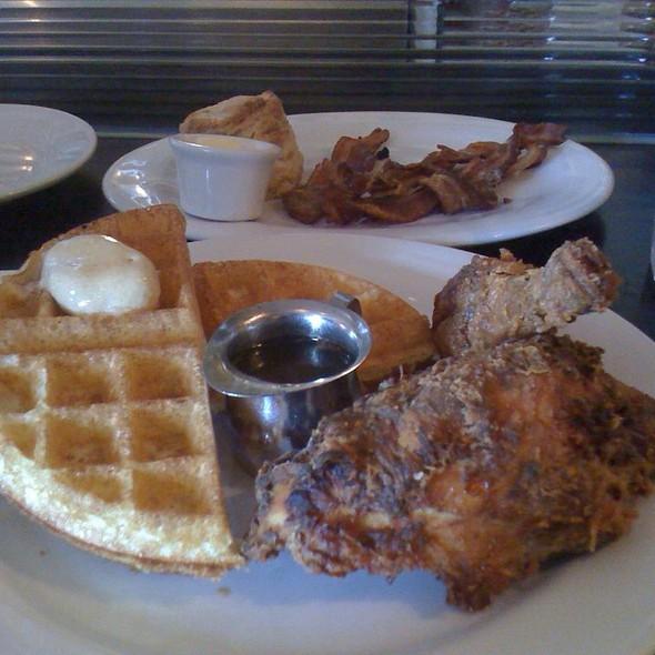 Buttermilk Waffles and Fried Chicken @ Brown Sugar Kitchen