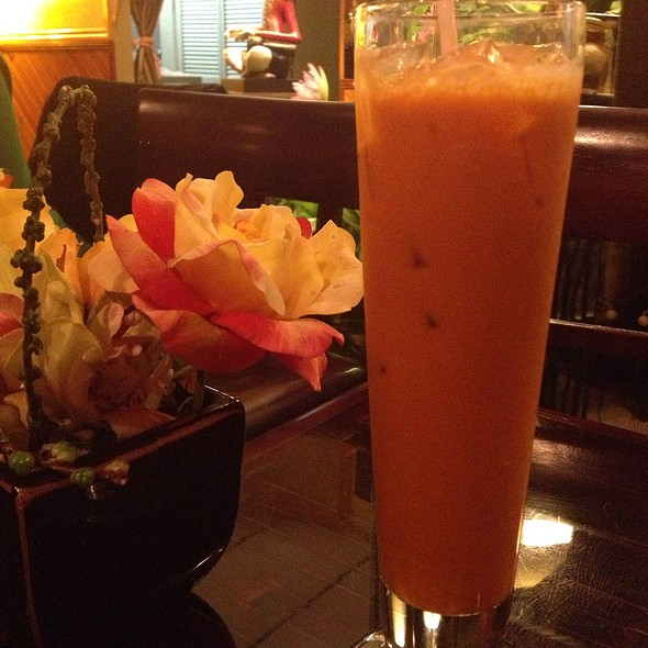 Thai Iced Tea @ Panya Thai