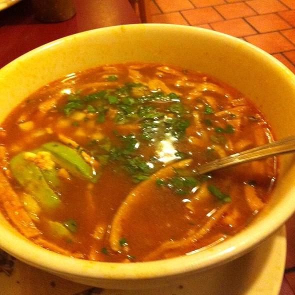 Sopa Azteca @ Picante Restaurant