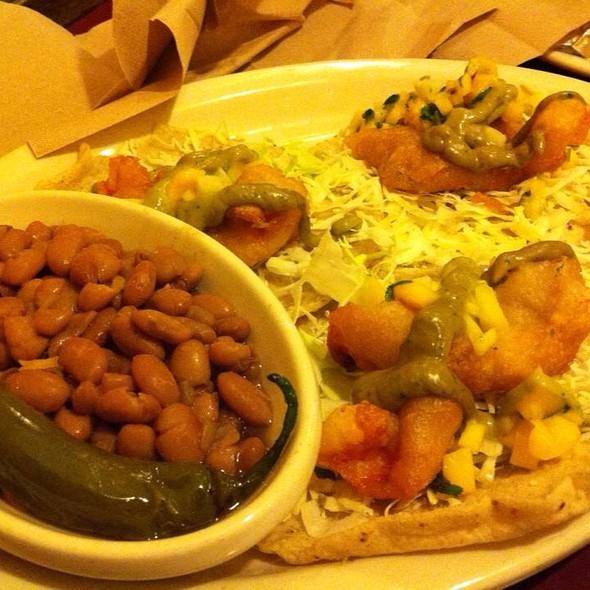 shrimp taco @ Picante Restaurant