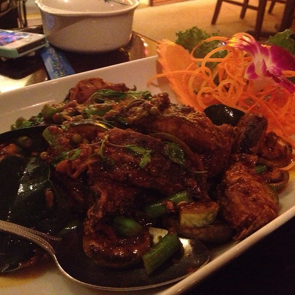 Thai Crispy Catfish @ Panya Thai