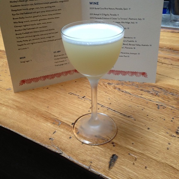 Tequila Fix @ Bar Agricole