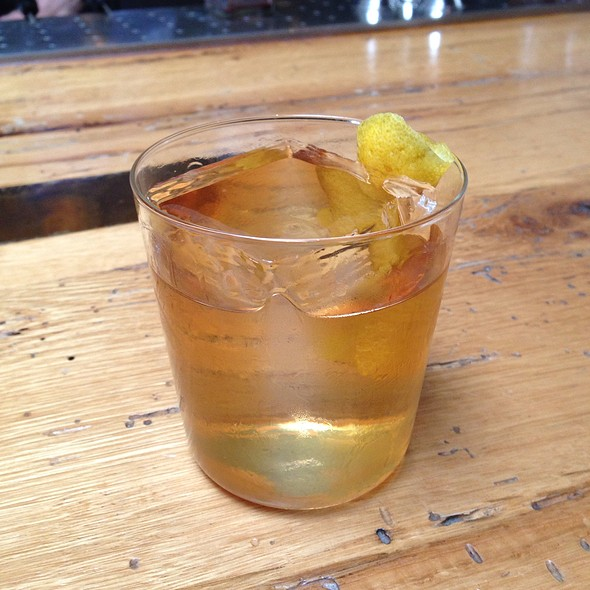 Old Fashioned @ Bar Agricole