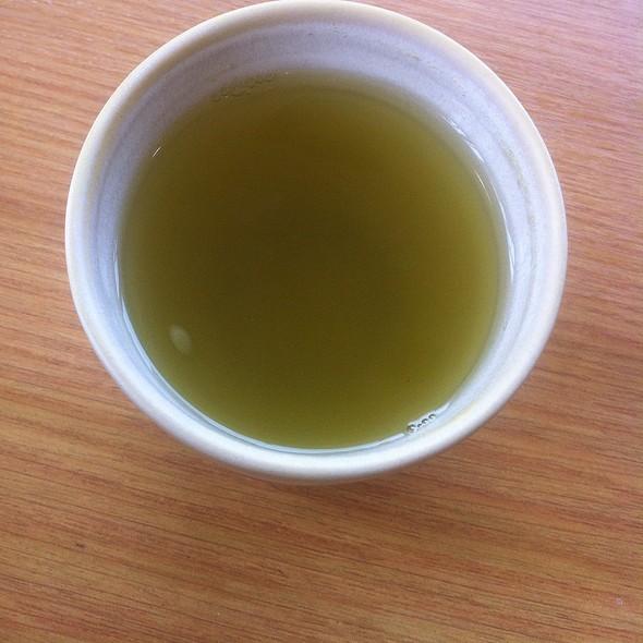 Green Tea. @ Saboten