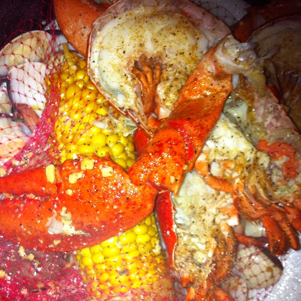 Bean Town Steampot @ Joe's Crab Shack