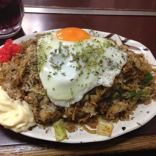 チャーハンメン @ スタミナラーメン さわき 川内店