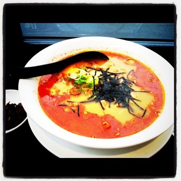 Spicy Pork Cha-shiu Ramen @ Hakataya Noodle Shop