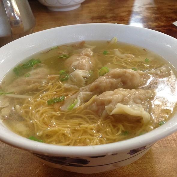 Shrimp Dumpling Noodle Soup @ Ying Kee Restaurant