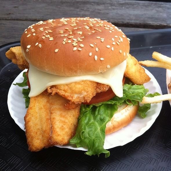 Fish Sandwich @ Fred's Shanty Restaurant