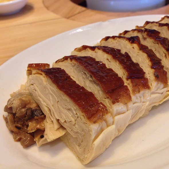 Mushroom Stuffed Fried Tofu