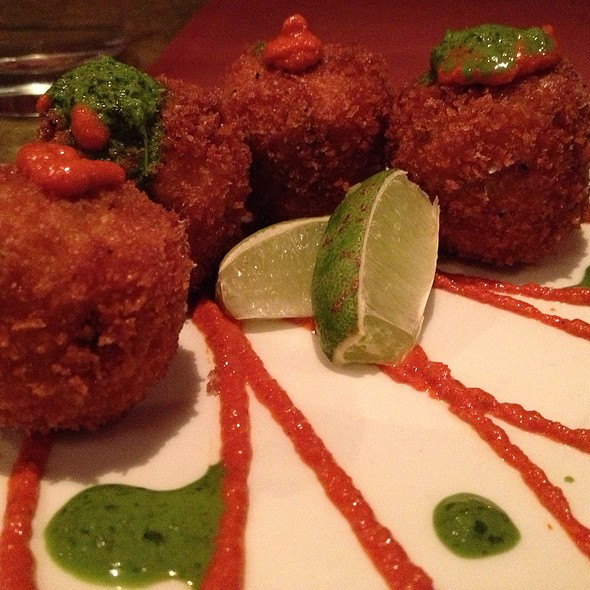 Corn and Goat Cheese Croquettas @ Seviche