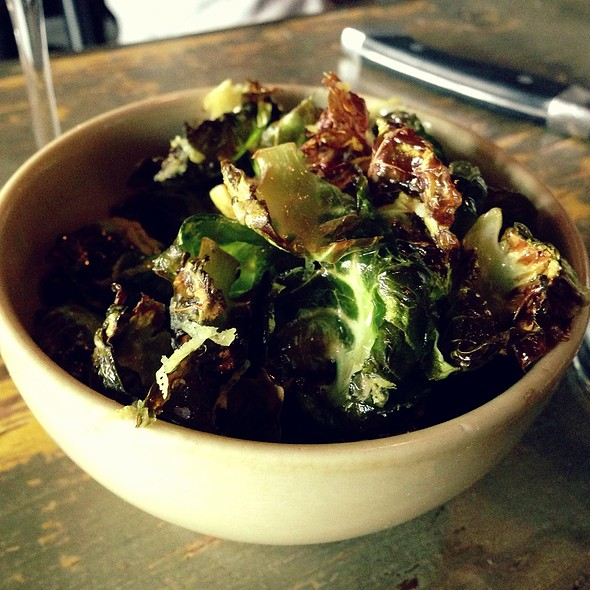 Brussel Sprout Chips @ Marlowe