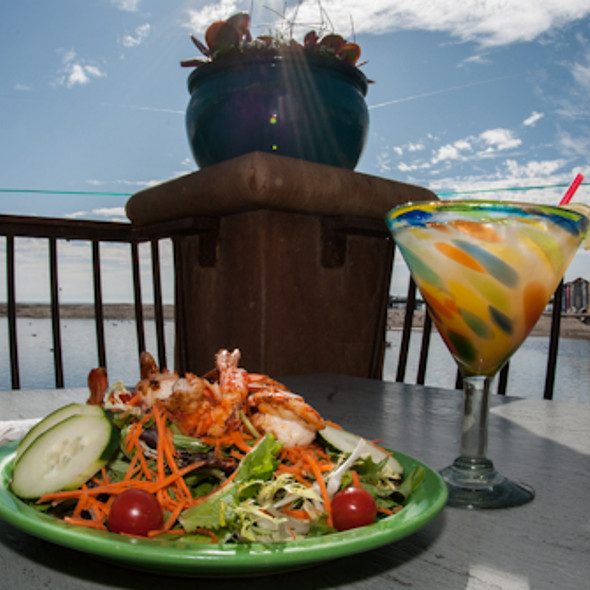 Fresh Garden Salad with Asian Sesame Dressing! Add Tri TipToo - Margaritaville - Capitola, Capitola, CA