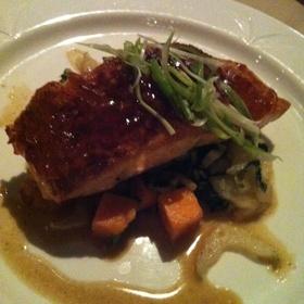 Chili Glazed Organic Salmon - Skyline Club, Indianapolis, IN