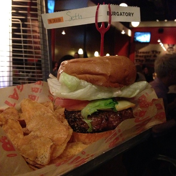 Build Your Own Burger @ Burgatory