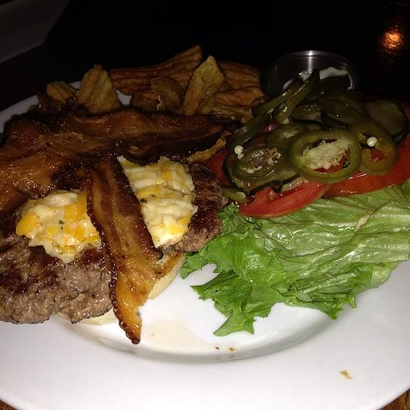 Pimento Cheese Burger @ Sweet Grass Next Door